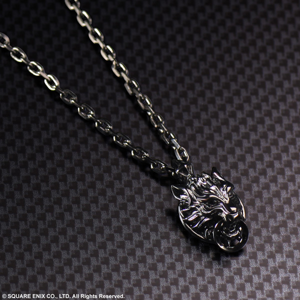 【オフィシャルショップ限定】FINAL FANTASY VII ADVENT CHILDREN SILVER PENDANT <CLOUDY WOLF>
