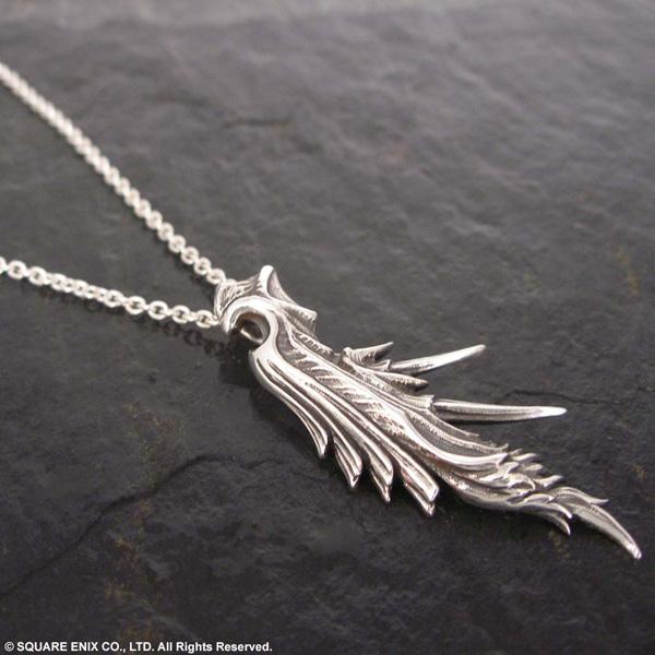 Final fantasy vii silver pendant sephiroth final fantasy vii sephiroth mozeypictures Choice Image