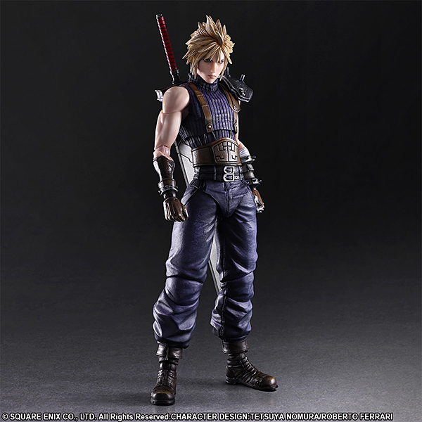 FINAL FANTASY VII REMAKE PLAY ARTS改 クラウド・ストライフ LIMITED COLOR Ver.