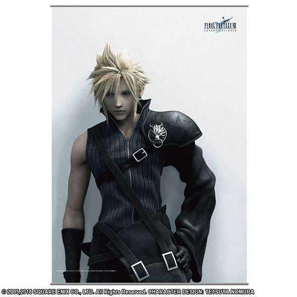 FINAL FANTASY VII ADVENT CHILDREN ウォールスクロール <クラウド> Vol.2