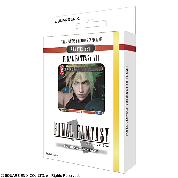 FINAL FANTASY TRADING CARD GAME スターターセット FINAL FANTASY VII 英語版