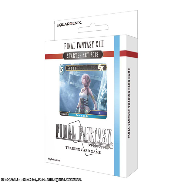 FINAL FANTASY TRADING CARD GAME スターターセット2018 FINAL FANTASY XIII 英語版