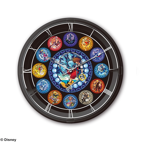 KINGDOM HEARTS LIGHTING CLOCK