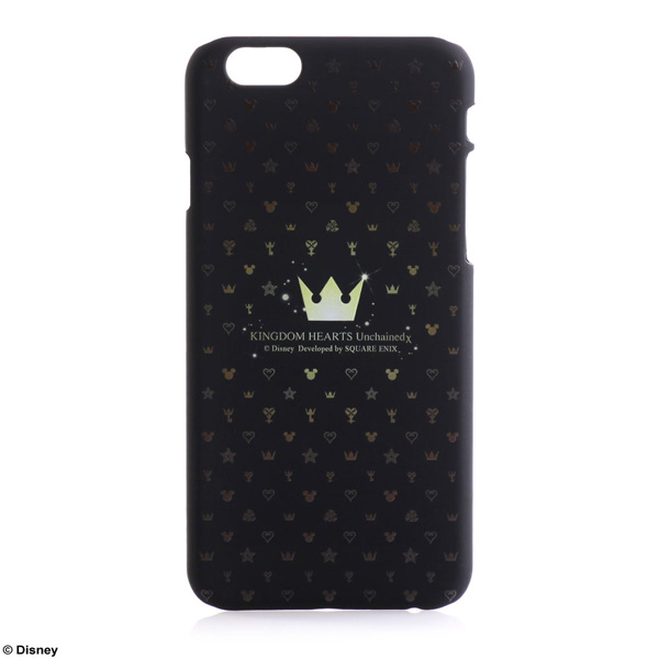 SQUARE ENIX Case For iPhone6 KINGDOM HEARTS Unchained χ モノグラム <Golden Crown>