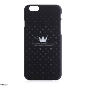 SQUARE ENIX Case For iPhone6 KINGDOM HEARTS Unchained χ モノグラム <Silver Crown>