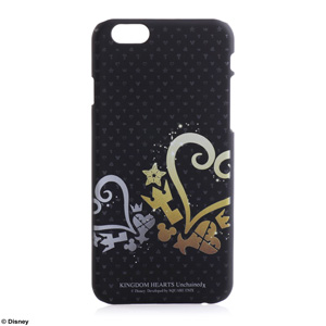 SQUARE ENIX Case For iPhone6 KINGDOM HEARTS Unchained χ モノグラム <Hearts & Heartless>