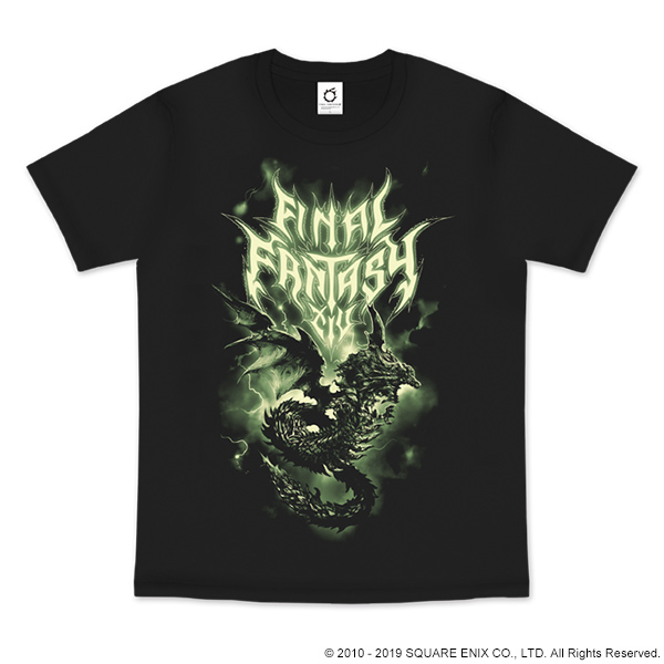FINAL FANTASY XIV FAN FESTIVAL 2018 in LAS VEGAS T-SHIRT<SHINRYU>【ファンフェス事前購入】