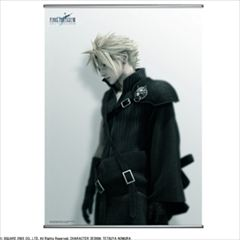 FINAL FANTASY VII ADVENT CHILDREN ウォールスクロール <クラウド>