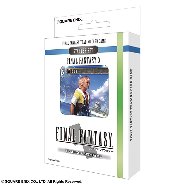 FINAL FANTASY TRADING CARD GAME スターターセット FINAL FANTASY X 英語版